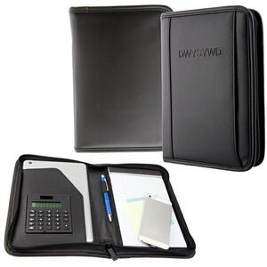 Classic Junior Calculator Portfolio (Black)