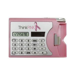 Calculator W/Card Holder